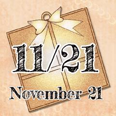 [LINEスタンプ] 11月21日記念日BIGスタンプ