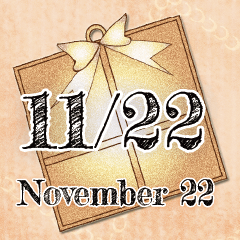[LINEスタンプ] 11月22日記念日BIGスタンプ