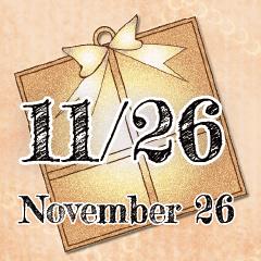 [LINEスタンプ] 11月26日記念日BIGスタンプ