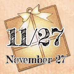 [LINEスタンプ] 11月27日記念日BIGスタンプ
