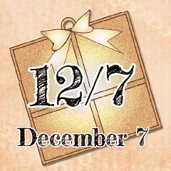 [LINEスタンプ] 12月7日記念日BIGスタンプ