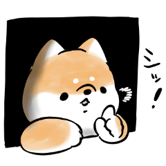 [LINEスタンプ] おちゃめな犬