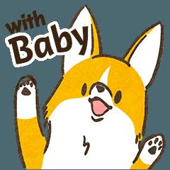 コーギーママのこうちゃ with Baby