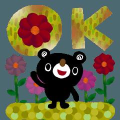 [LINEスタンプ] 絵本みたいな*お花がいっぱいスタンプ