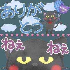 水彩えほん【黒猫ボシュのスリム編】