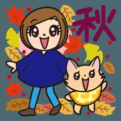 まりん&まるるん9(秋)