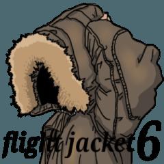 [LINEスタンプ] フライトジャケットーズ 6
