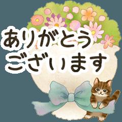 基本&行事☆猫たちのスタンプ