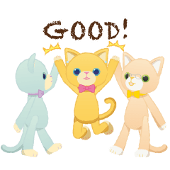 [LINEスタンプ] うごく!PRINCE CATスタンプ