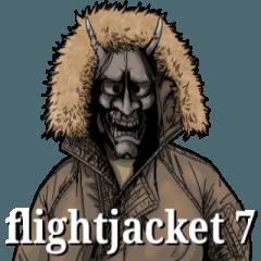 [LINEスタンプ] フライトジャケットーズ 7