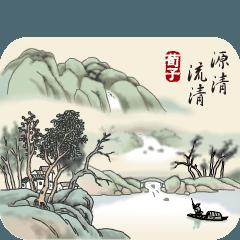 古風画(日本語版)