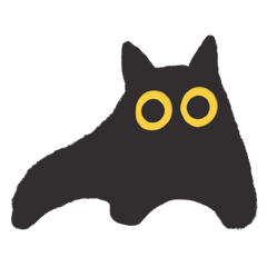 ツリーハウスの猫