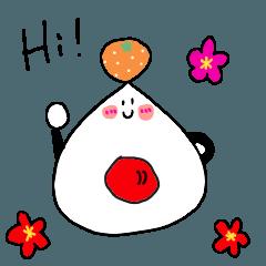 [LINEスタンプ] 【賀正】あけおめ!おにぎりさん【新年】