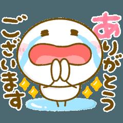 [LINEスタンプ] 動く♡ゆるかわ棒人間