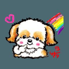 [LINEスタンプ] 絵描きサリー☆ほのぼの動物スタンプ