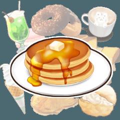 [LINEスタンプ] 【甘味処】敬語のお菓子スタンプ