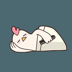 [LINEスタンプ] ママ。鶏の画像(メイン)