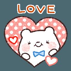 [LINEスタンプ] 世界でいちばん 紳士クマ!