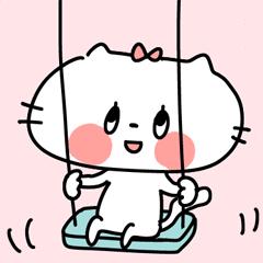 [LINEスタンプ] 【big】ねこちゃんスタンプ