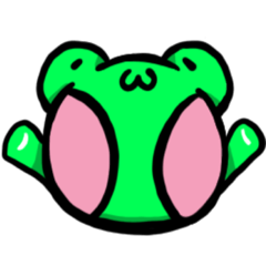 [LINEスタンプ] カエルの歌