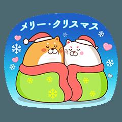 [LINEスタンプ] 白いフェイフェイ5❤️冬スタンプ❤️