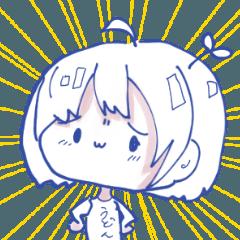[LINEスタンプ] うどんちゃんのすたんぷ