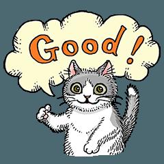 [LINEスタンプ] 子猫のタラちゃん