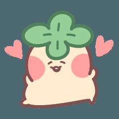 [LINEスタンプ] まんまが大好き、赤ちゃん熟柿!
