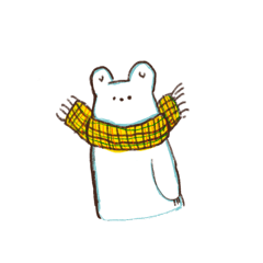 [LINEスタンプ] しろくまのぽんちゃん