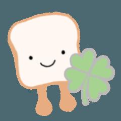 [LINEスタンプ] 愛すべき食パンくん