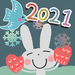 [LINEスタンプ] 大人カワイイ♡2021冬&年末年始