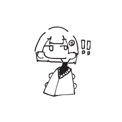 [LINEスタンプ] ぱっつんの子