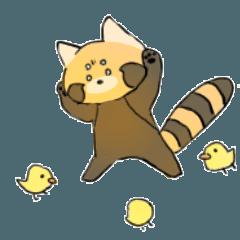[LINEスタンプ] 人生、劣勢パンダちゃんのスタンプ