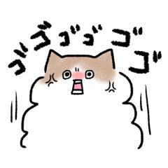 [LINEスタンプ] もふもふ毒舌猫