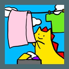 [LINEスタンプ] どんちゃんの楽しい毎日2