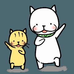 [LINEスタンプ] ぽぽと花 第5弾 スタンプ