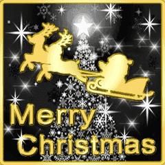 [LINEスタンプ] ▷光の冬☆クリスマス☆年末年始