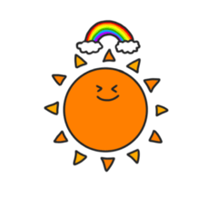 [LINEスタンプ] 太陽の子