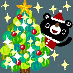 [LINEスタンプ] 絵本みたいな*背景が動く*楽しいクリスマス