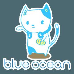 [LINEスタンプ] BO公式ブルーオーニャンほっこりスタンプの画像(メイン)