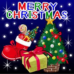 [LINEスタンプ] クリスマス☆お正月☆誕生日☆毎年使える♡