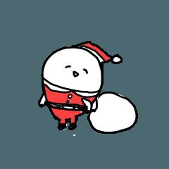 [LINEスタンプ] だいこんクリスマス
