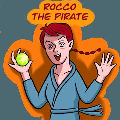 [LINEスタンプ] 女海賊ロッコ