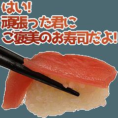 [LINEスタンプ] やさしいお寿司